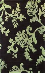 Nuloom Cine Pasley Print Green Area Rug