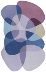 Nuloom Hand Tufted Karima Purple Area Rug