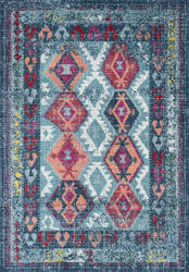Nuloom Tribal Mayola Aqua Area Rug