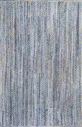 Nuloom Hand Braided Otelia Denim Area Rug