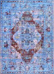 Nuloom Persian Fancy Moira Blue Area Rug