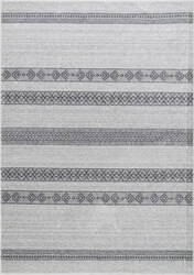 Nuloom Vintage Striped Makeda Grey Area Rug