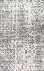 Famous Maker Deedra Machine Made Gray Area Rug