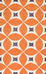 Nuloom Hand Tufted Gabriela Deep Orange Area Rug