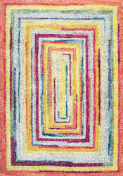 Nuloom Hargis Labyrinth Multi Area Rug