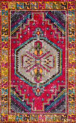 Nuloom Joy Tribal Red Area Rug