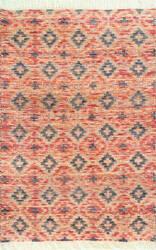 Nuloom Trishelle Hand Woven Orange Area Rug