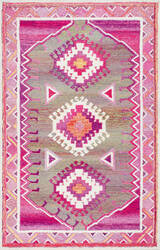 Famous Maker Hand Tufted Elza Pink Area Rug