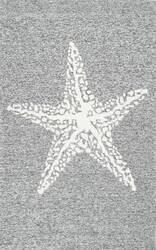 Nuloom Hand Hooked Marine Grey Area Rug