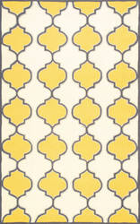 Nuloom Roselee Hand Hooked Gold Area Rug