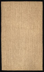 Nuloom Cindy Natural Black Area Rug