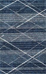 Nuloom Hand Tufted Vito Trellis Shag Blue Area Rug