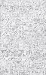 Nuloom Laticia Swirls Ivory Area Rug