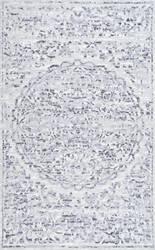 Nuloom Vintage Melaine Grey Area Rug