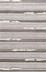 Famous Maker Hand Loomed Liles Brown Area Rug