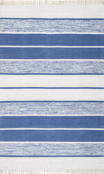 Nuloom Darla Hand Woven Blue Area Rug