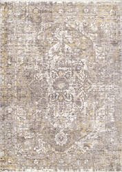 Famous Maker Vintage Brandy Orange Area Rug