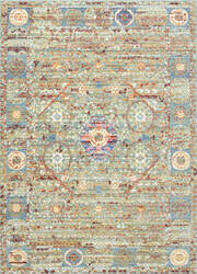 Nuloom Machine Made Lashley Green Area Rug