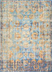 Nuloom Leonor Persian Vintage Aqua Area Rug
