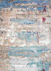Nuloom Abstract Delisa Blue Area Rug