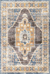 Famous Maker Transitional Stacey Blue Area Rug