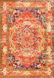 Nuloom Vintage Mackenzie Orange Area Rug