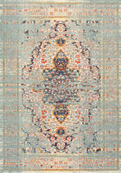 Nuloom Distressed Persian Sarita Grey Area Rug