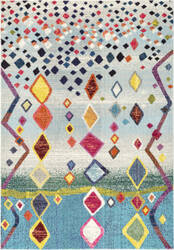 Nuloom Tinisha Moroccan Diamond Multi Area Rug