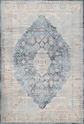 Famous Maker Vintage Claire Light Blue Area Rug