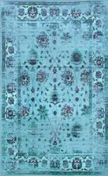 Nuloom Vintage Tosha Turquoise Area Rug