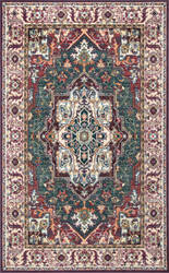 Nuloom Vintage Medallion Evalyn Multi Area Rug