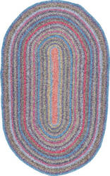 Nuloom Hand Braided Maynard Multi Area Rug