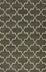 Nuloom Modella Star Trellis Nickel Area Rug