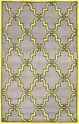Nuloom Hand Tufted Ella Yellow Area Rug