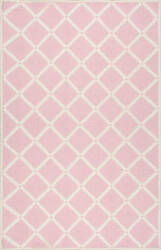 Nuloom Hand Hooked Takako Pink Area Rug