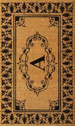 Nuloom Letter A Doormat Letter A Area Rug