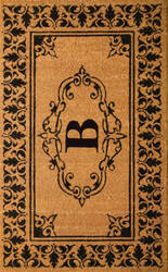 Nuloom Letter B Doormat Letter B Area Rug