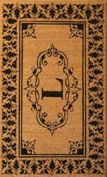 Nuloom Letter L Doormat Letter L Area Rug