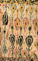 Nuloom Machine Woven Paisley Natural Area Rug