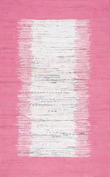 Nuloom Flatweave Tasha Pink Area Rug