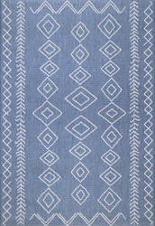 Famous Maker Serna Outdoor Blue Area Rug
