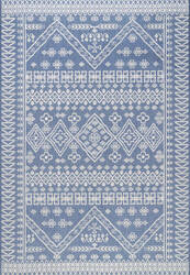 Famous Maker Kandace Outdoor Blue Area Rug