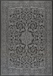 Nuloom Thomas Paul Floral Medallion Black Area Rug
