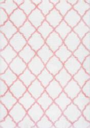 Nuloom Nelda Kids Shag Baby Pink Area Rug