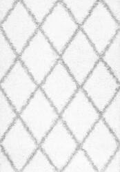 Nuloom Shanna Shaggy White Area Rug