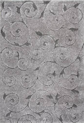 Nuloom Machine Made Maisha Dark Grey Area Rug
