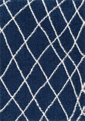 Nuloom Alvera Shag Blue Area Rug