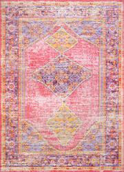 Nuloom Vintage Jenice Pink Area Rug