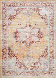 Nuloom Vintage Malorie Orange Area Rug