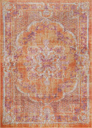 Nuloom Vintage Obryan Orange Area Rug